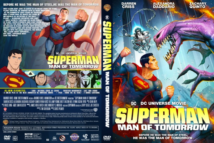Superman: Man of Tomorrow 2020 Full Movie Watch Online Free