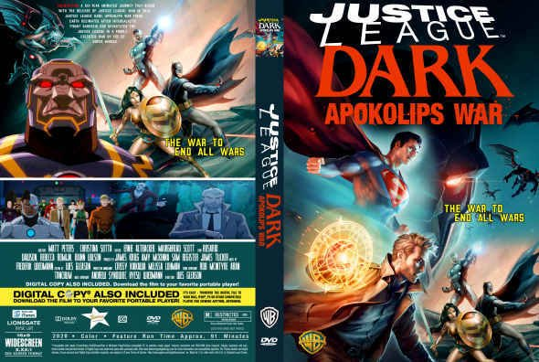 Justice League Dark: Apokolips War 2020 Full Movie Watch Online Free HD 4K