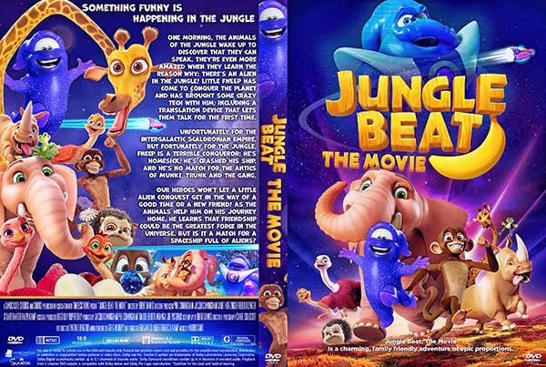 Ýíáã Jungle Beat: The Movie 2020 ãÊÑÌã