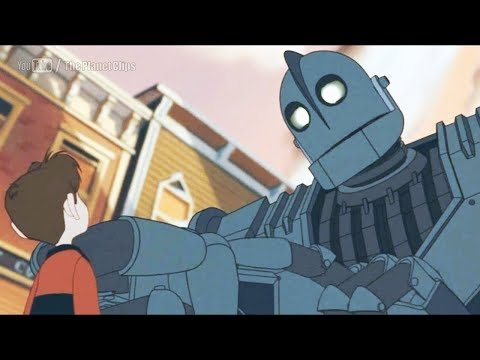 Ýíáã The Iron Giant 1999 ãÊÑÌã HD
