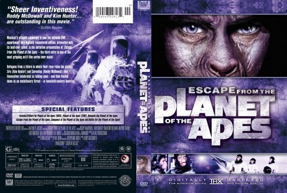 ãÔÇåÏÉ Ýíáã Escape from the Planet of the Apes 1971 ãÊÑÌã HD