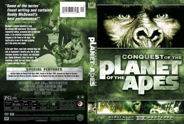 ãÔÇåÏÉ Ýíáã Conquest of the Planet of the Apes 1972 ãÊÑÌã HD