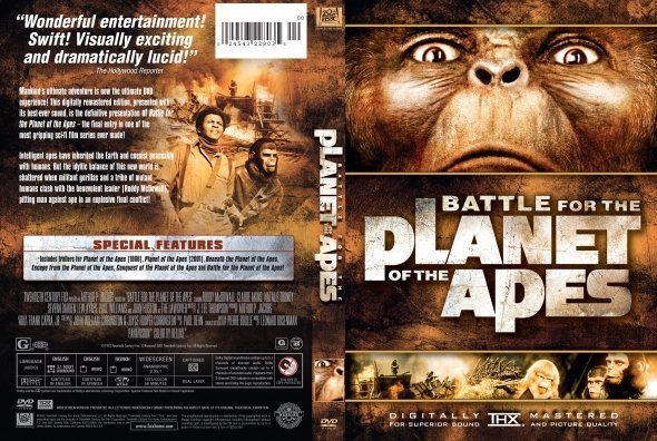 ������ ���� Battle for the planet of the Apes 1973 ����� HD