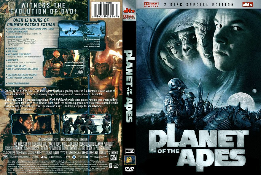 ������ ���� Planet of the Apes 2001 ����� HD