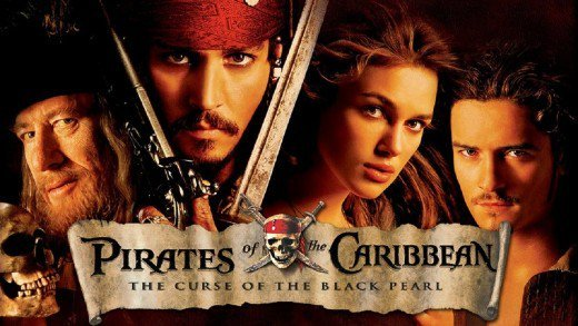 Ýíáã Pirates of the Caribbean 1 The Curse of the Black Pearl 2003 ãÊÑÌã HD